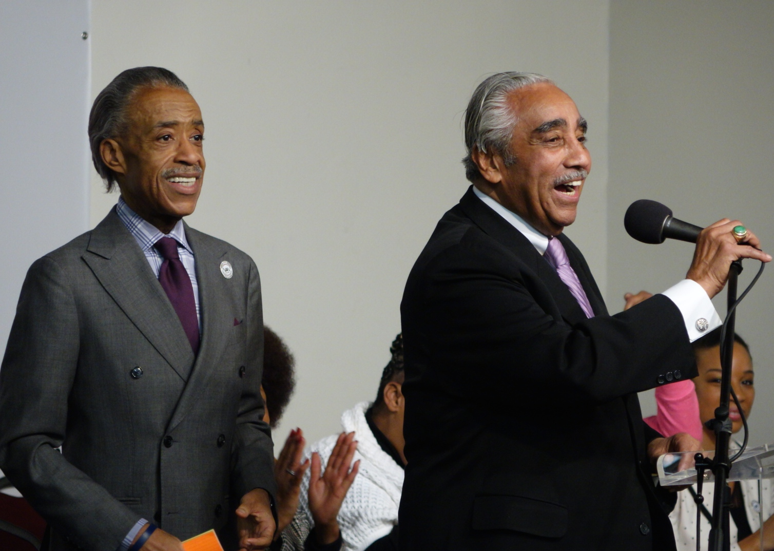 Rep. Charles B. Rangel speaks. 1/19/15