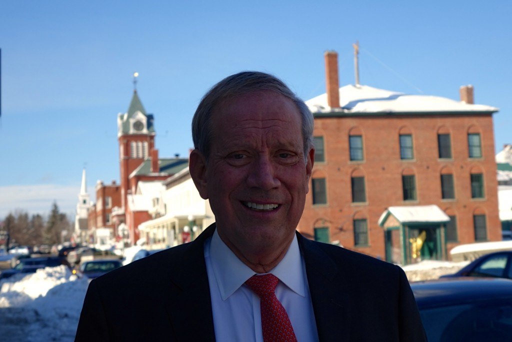 George Pataki in Newport, New Hampshire.  2/3/15