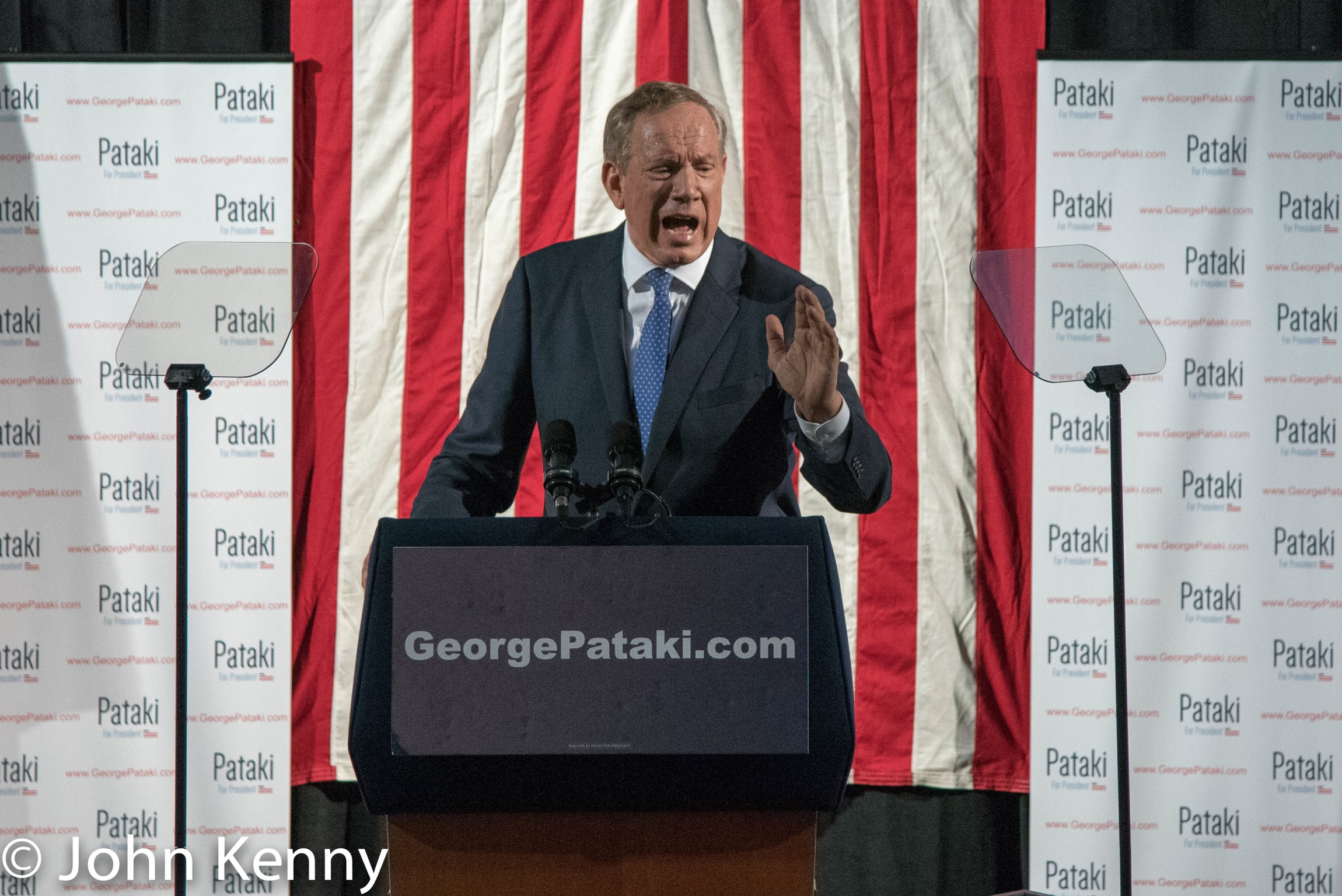 Pataki Speaking - Front Exeter 5-28-15