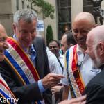 Schumer, de Blasio, Miranda, Sullivan - Labor Day Parade 9/12/15