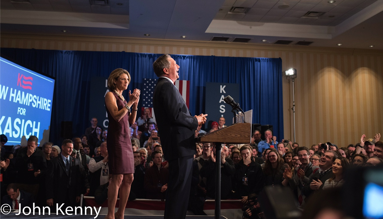 Kasich - NH Primary Night 2-9-16